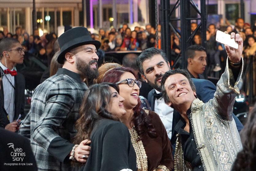 Le Selfie des acteurs et actrices marocains - Clôtue du  Festival de Marrakech  2015 - Photo © Anik Couble