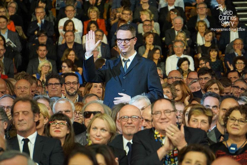 Nicolas Winding Refn, lors de la cérémonie d'ouverture du Festival Lumière 2015 - Lyon - Photo © Anik COUBLE