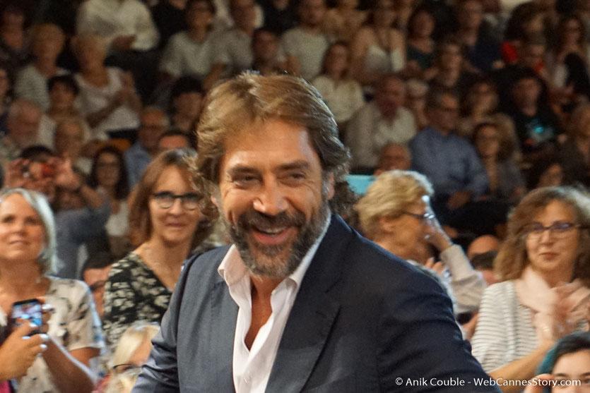 Javier Bardem, au milieu du public, lors de la cérémonie d'ouverture du Festival Lumière 2018 - Lyon - Photo © Anik Couble