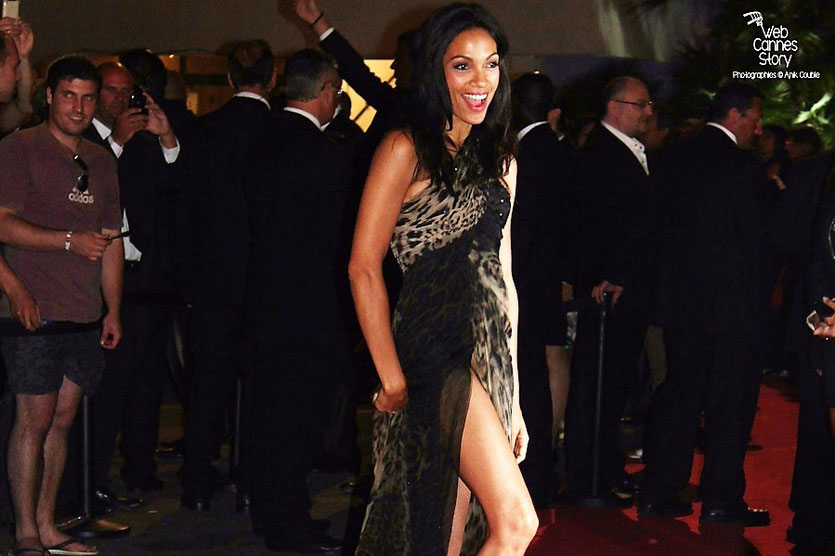 Rosario Dawson - Festival de Cannes 2011 - Photo © Anik Couble