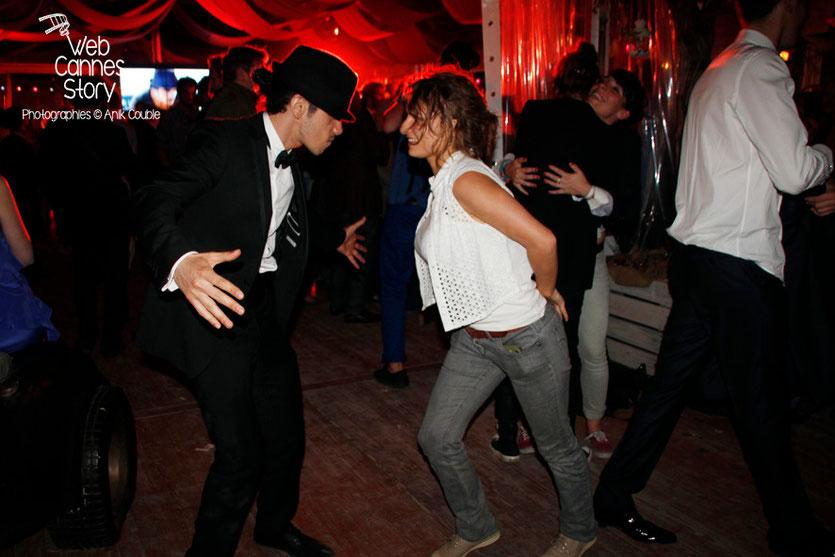 Rachid Yous, lors de la soirée du film «Géronimo» de Tony Gatlif - Festival de Cannes 2014 - Photo © Anik COUBLE