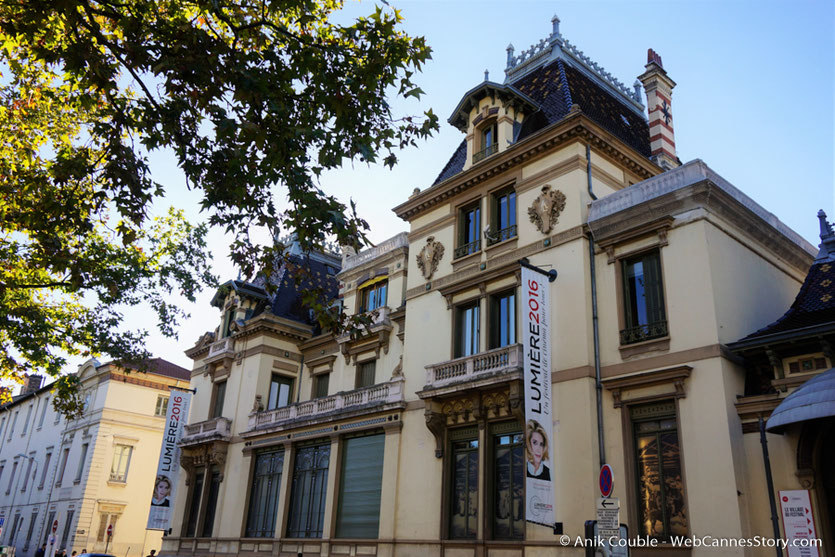 La Villa Lumière  qui accueille dans son parc, le village du Festival - Festival Lumière 2016 - Lyon - Photo © Anik Couble