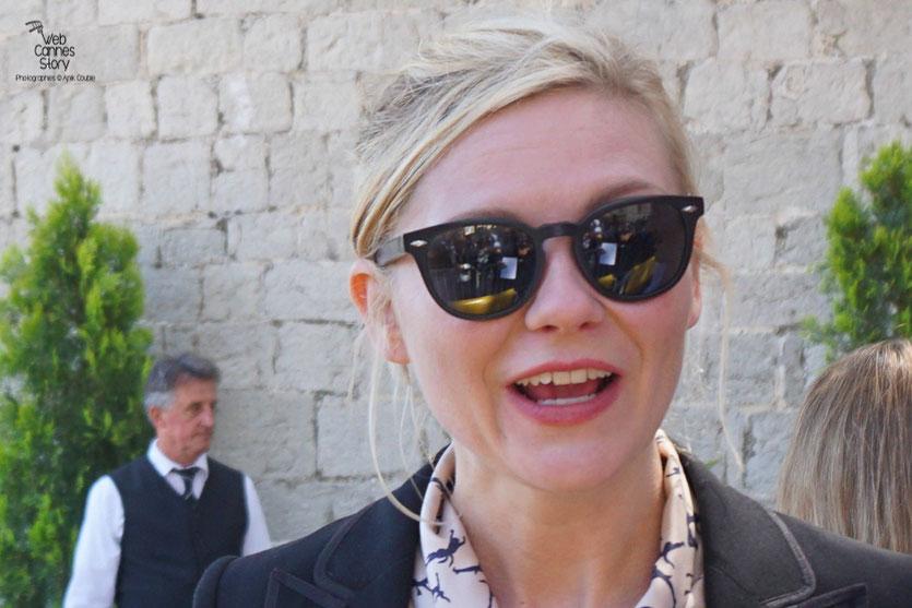 Kirsten Dunst, lors  du déjeuner de presse - Festival de Cannes 2016 - Photo © Anik Couble