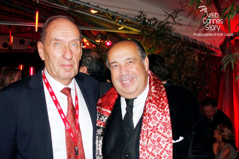 Max Lefrancq-Lumière et Max Chaoul - Festival Lumière - Lyon - Octobre 2013 - Photo © Anik COUBLE