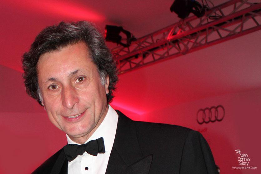 Patrick de Carolis, lors de la remise du Prix François Chalais à Nadine Labaki - Festival de Cannes 2011 - Photo © Anik Couble