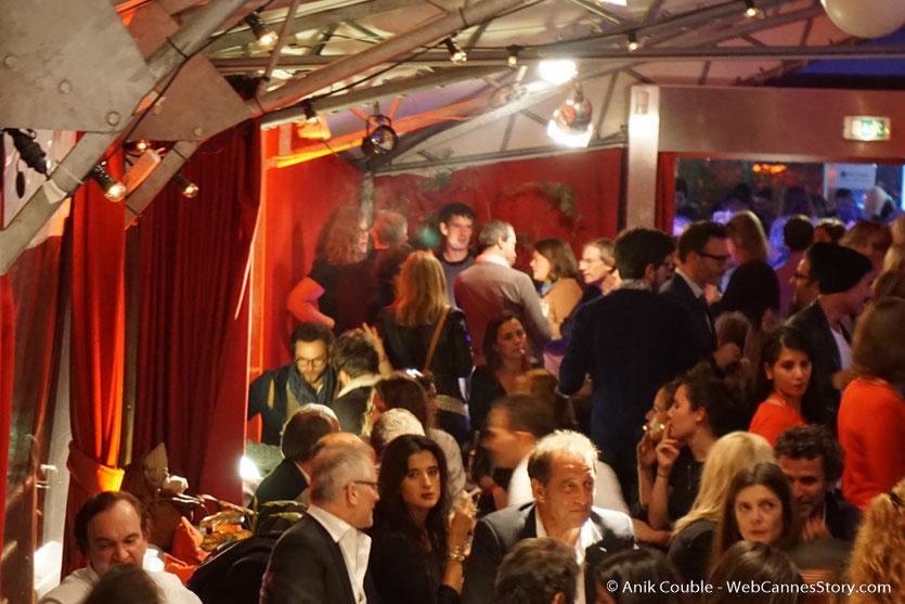 Les invités  du Festival à La Plateforme, dont Quentin Tarantino, Vincent Lindon, Chiara Mastroïanni - Festival Lumière 2016 - Lyon - Photo © Anik Couble