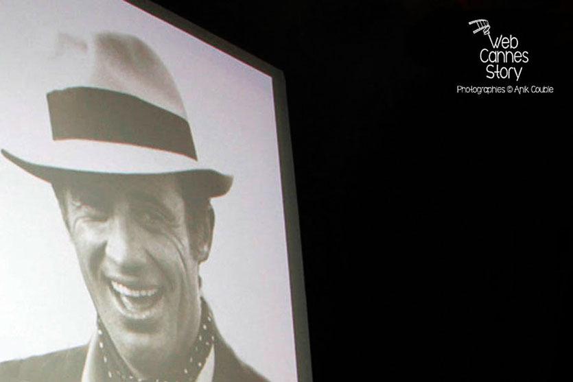 Jean-Paul Belmondo, sur l'écran de la Halle Tony Garnier - Festival Lumière - Lyon - Oct 2013 - Photo © Anik COUBLE