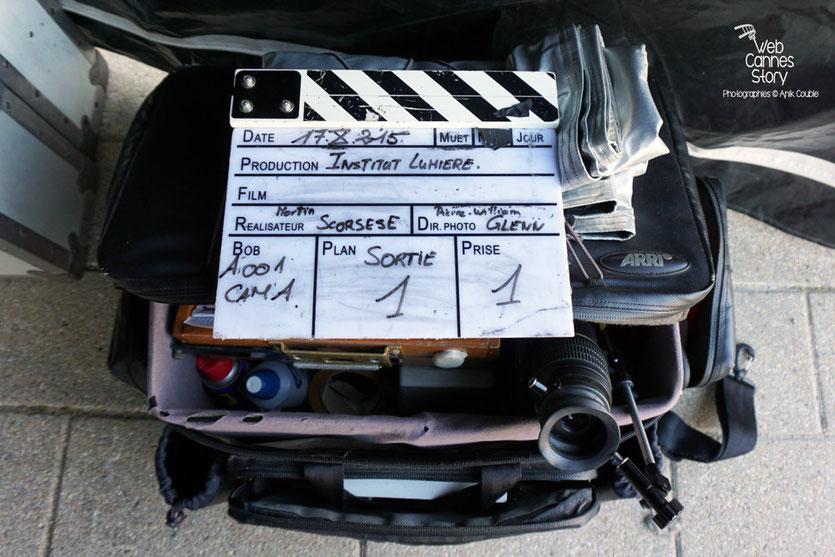 """Remake de """"Sortie d'Usine"""" dirigé par Martin Scorsese - Lyon - Festival Lumière 2015 - Photo © Anik COUBLE"""