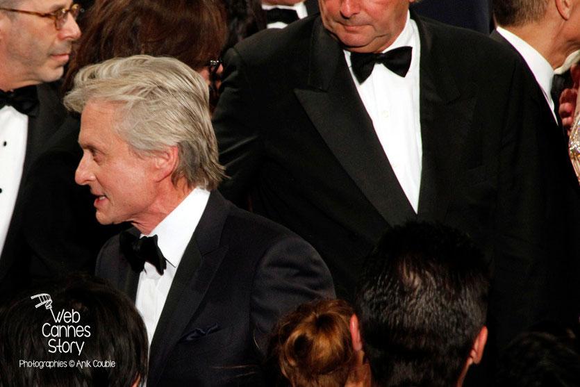 Michael Douglas, lors de la projection du film «Ma vie avec Liberace» de Steven Soderbergh - Festival de Cannes 2013 - Photo © Anik COUBLE