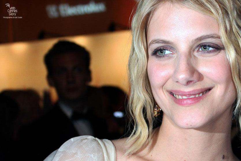 Mélanie Laurent, Maîtresse de cérémonie - Festival de Cannes 2011 - Photo © Anik Couble