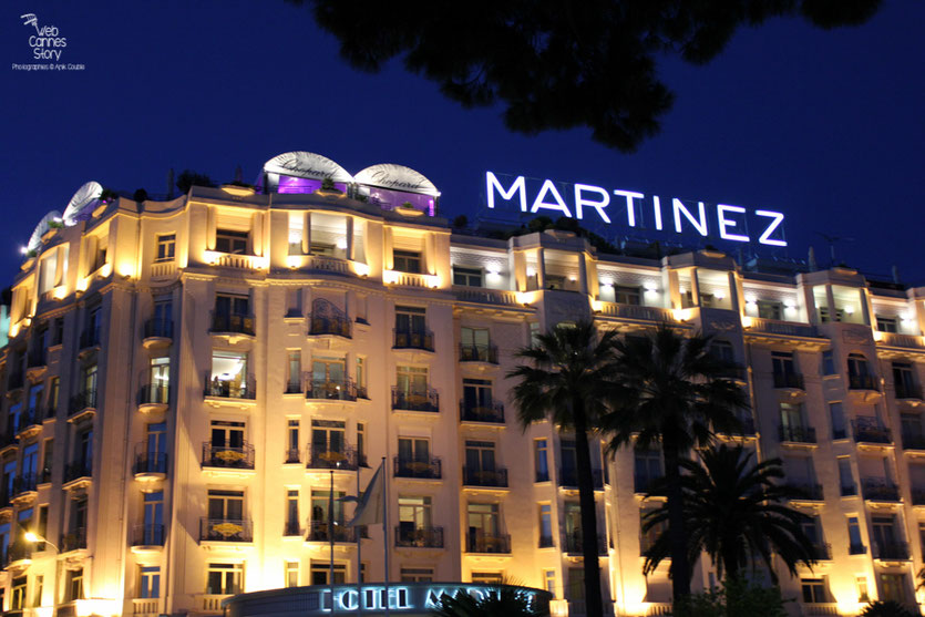 L'Hôtel Martinez - Festival de Cannes 2011 - Photo © Anik Couble