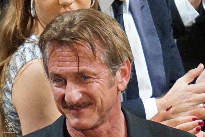 "Sean Penn, lors de la projection de son film ""The last face""  - Festival de Cannes 2016 - Photo © Anik Couble"