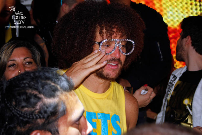 Redfoo de LMFAO - Torch Cannes - Festival de Cannes 2013 - Photo © Anik COUBLE