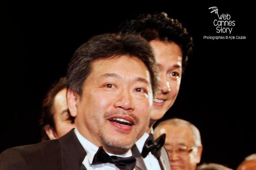 """Le réalisateur, Kore-Eda Hirokazu, du film japonais """"Tel père, tel fils""""  - Festival de Cannes 2013 © Anik COUBLE"""