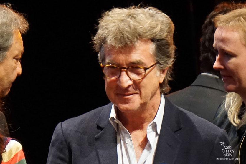 François Cluzet,  Remise du Prix Lumière à Martin Scorsese - Festival Lumière - Lyon - Oct 2015 - Photo © Anik COUBLE