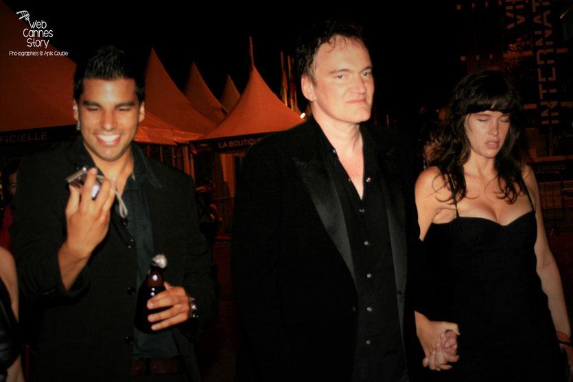 Quentin Tarantino, sur la Croisette - Festival de Cannes - 2009 - Photo © Anik COUBLE