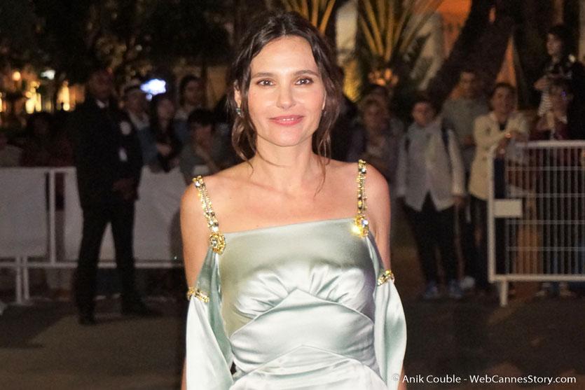 Virginie Ledoyen, sublime et adorable membre du jury - Soirée d'ouverture - Festival de Cannes 2018  - Photo © Anik Couble
