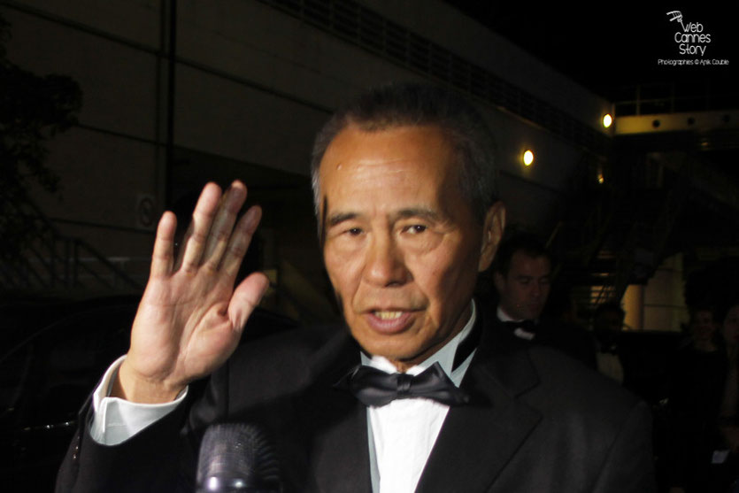 "Hou Hsiao-hsien - Prix de la mise en scène pour ""The Assassin"" - Festival de Cannes 2015 - Photo © Anik Couble"