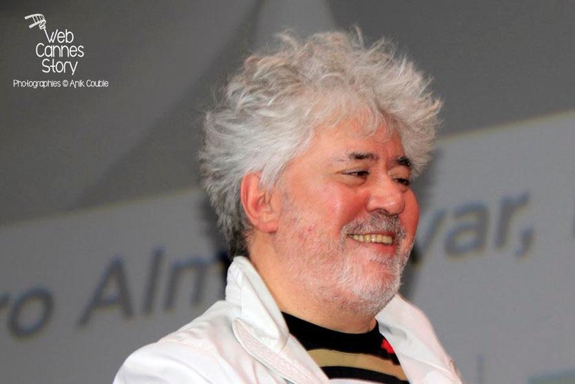 Pedro Almodovar - Clôture du Festival Lumière - Lyon - Octobre 2014 - Photo © Anik COUBLE