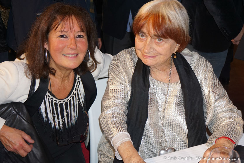 En compagnie d'Agnès Varda - Dîner d'ouverture  - Festival Lumière 2016 - Lyon - Photo © Anik Couble