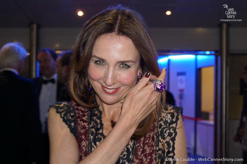 Elsa Zylberstein - Festival de Cannes 2016 - Photo © Anik Couble