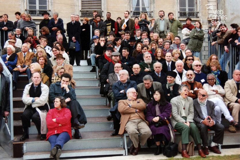 Centenaire du Cinéma - Institut Lumière - Lyon - 19 mars 1995 - Photo © Anik COUBLE