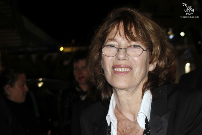 Jane Birkin  - Festival de Cannes 2015 - Photo © Anik Couble