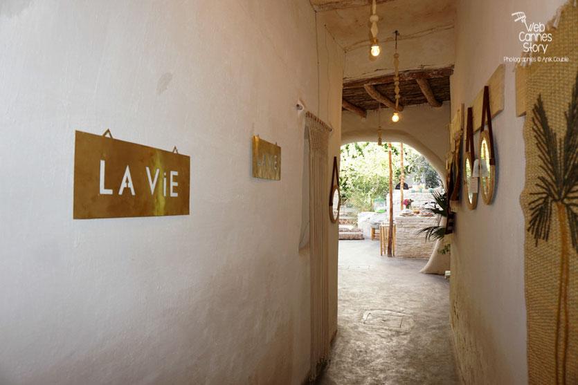 """Restaurant """"La Famille"""" véritable havre de paix, au cœur de la Médina à Marrakech - Photo © Anik Couble"""