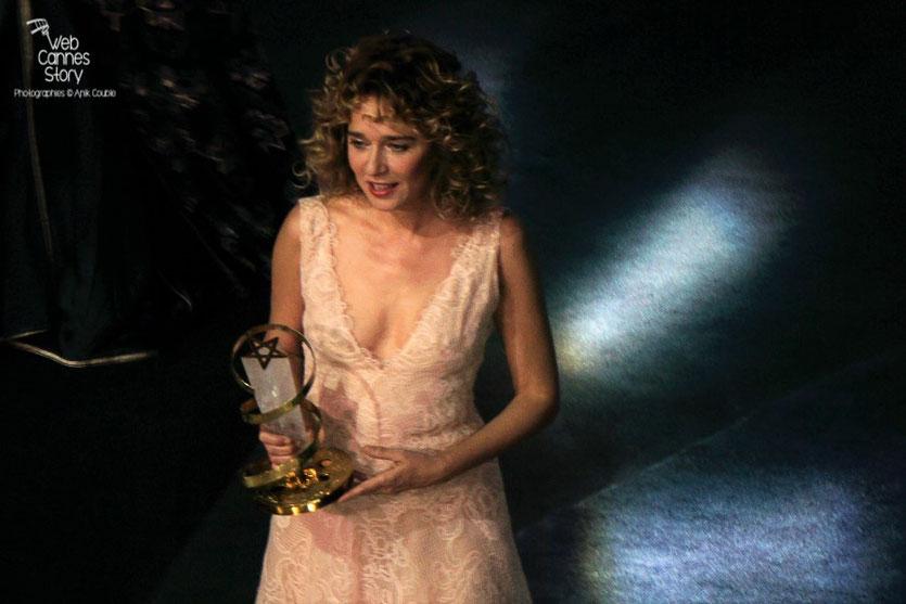 Valeria Golino, membre du Jury Cinécoles,  lors de l'hommage à Willem Dafoe -  Festival de  Marrakech - Décembre 2015 - Photo © Anik Couble