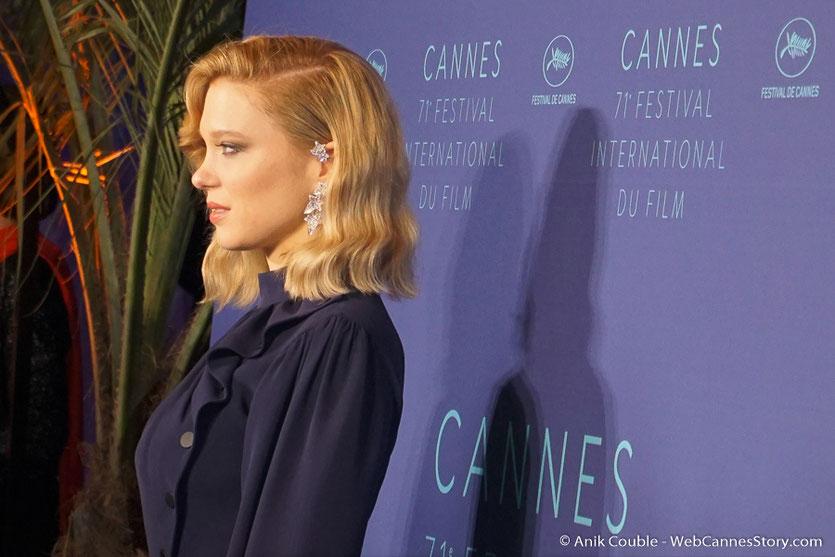 Lea Seydoux, sublime membre du Jury - Festival de Cannes 2018  - Photo © Anik Couble