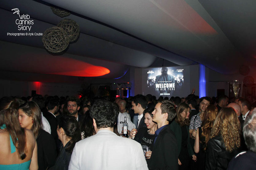 Soirée du Film « Welcome to New York » d'Abel Ferrara - Festival de Cannes 2014 - Photo © Anik COUBLE