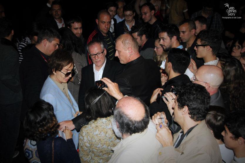 Michael Cimino, en séance d'autographes - Festival Lumière 2012 - Lyon © Anik Couble