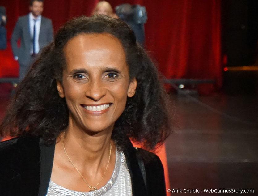 Karine Silla - Cérémonie d'ouverture - Festival Lumière 2016 - Lyon - Photo © Anik Couble