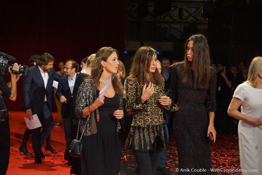 Anne Parillaud, lors de la cérémonie d'ouverture du Festival Lumière 2018 - Lyon - Photo © Anik Couble