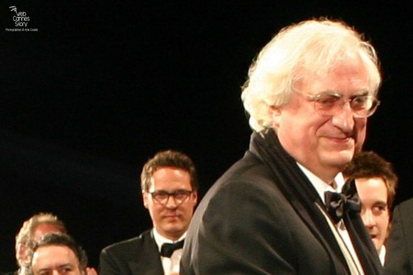 "Bertrand Tavernier, lors de la projection de son film "" La  Princesse de Montpensier "" - Festival de Cannes 2010 - Photo © Anik Couble"