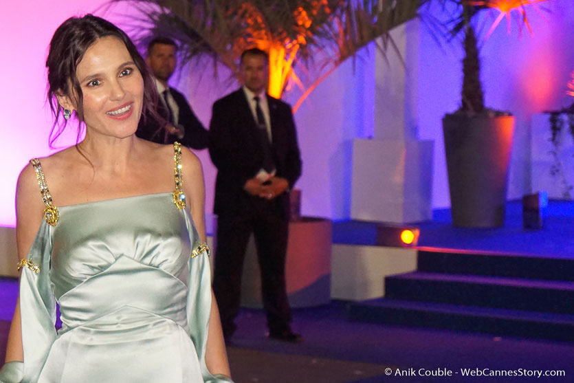 Virginie Ledoyen, sublime et adorable membre du jury - Festival de Cannes 2018  - Photo © Anik Couble