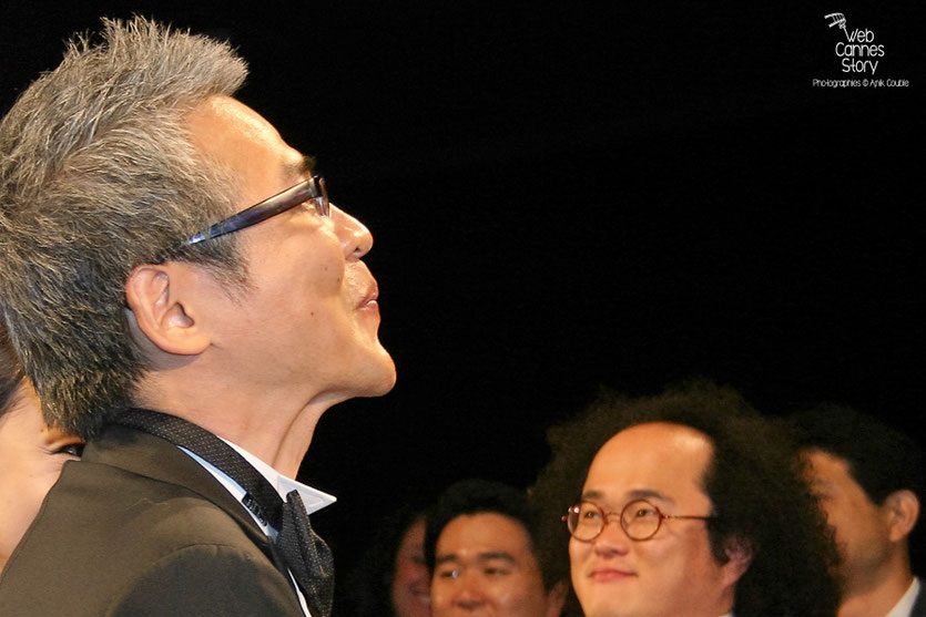 "Im Sang Soo, lors de la projection de son film ""The Housemaid"" - Festival de Cannes 2010 - Photo © Anik Couble"