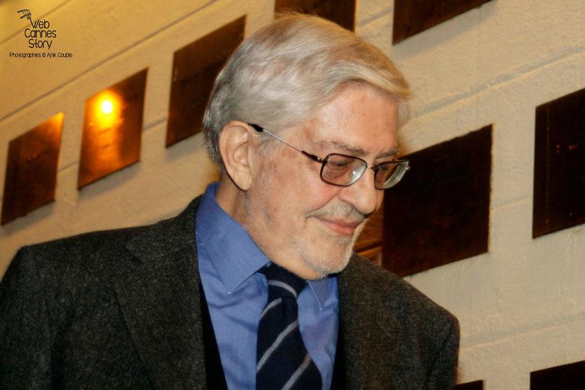 Ettore Scola,  devant le Mur des Réalisateurs - Institut Lumière - Lyon - 29 avril 2009 - Photo © Anik Couble