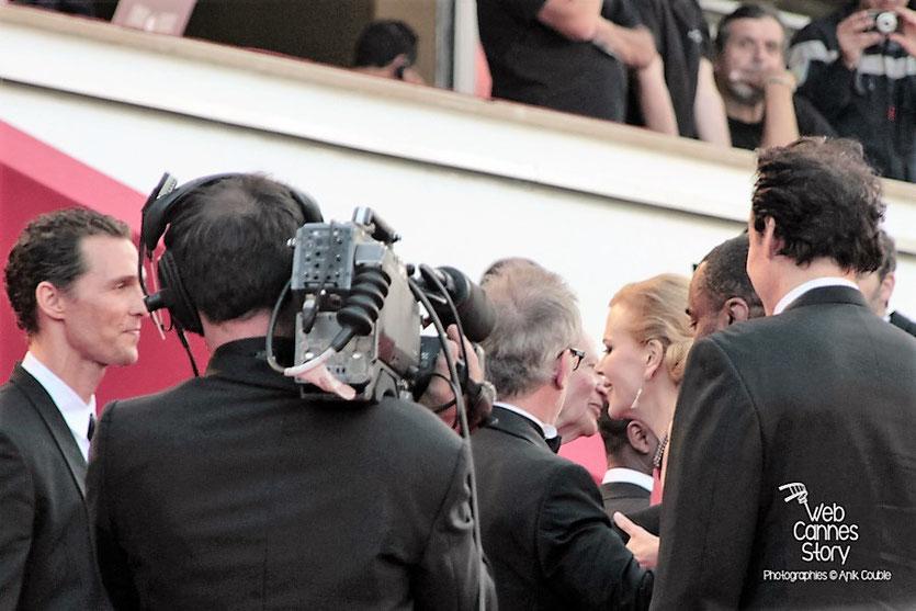 """Arrivéé sur les marches  de l'équipe du film """" The Paperboys """" de Lee Daniels dont Nicole Kidman, Matthew McConaughey - Festival de Cannes 2012 - Photo  © Anik Couble"""