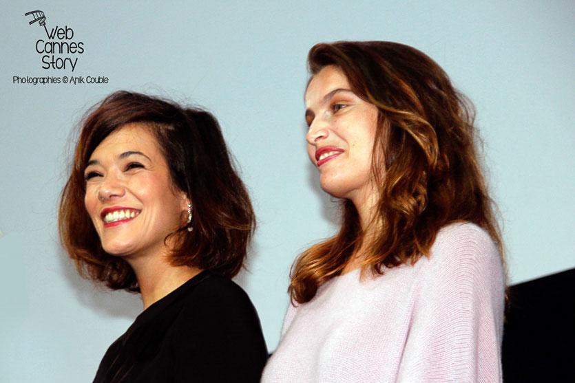 Mélanie Doutey et Laétitia Casta - Lyon - Ouverture du Festival Lumière 2014 - Photo © Anik COUBLE