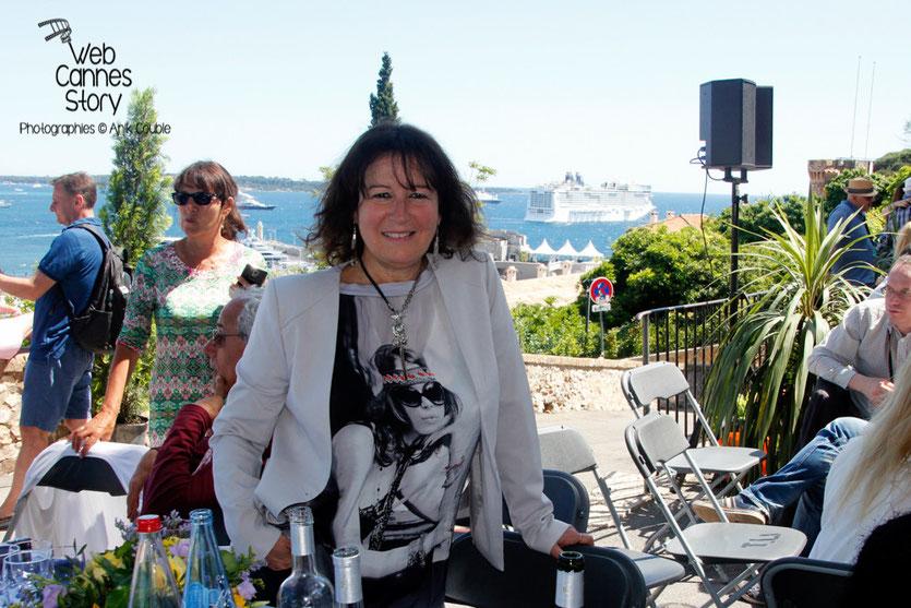 Anik COUBLE, lors du traditionnel déjeuner de presse, offert par le maire de Cannes - Festival de Cannes 2015 - Photo © Anik COUBLE