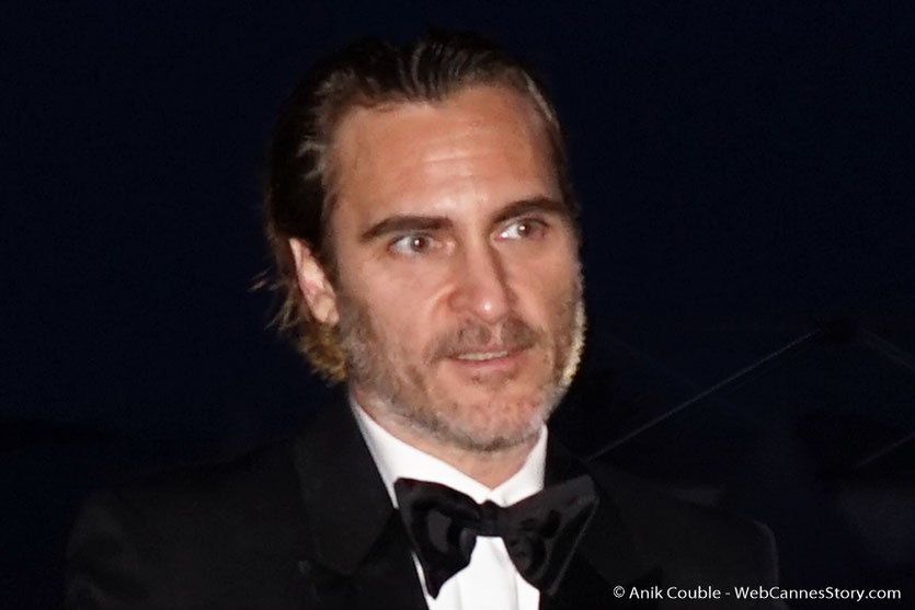 Joaquin Phoenix, Prix d'interprétation masculine - Festival de Cannes 2017 - Photo © Anik Couble