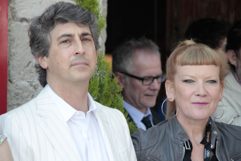 Alexander Payne et Andrea Arnold, membre du Jury du Festival de Cannes 2012 - Photo © Anik COUBLE