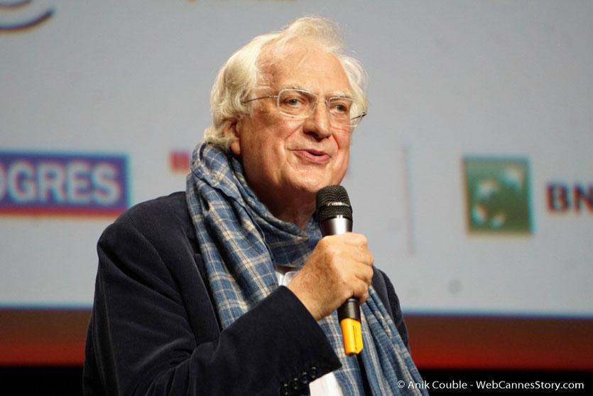 Bertrand Tavernier - Cérémonie de remise du Prix Lumière - Amphitheâtre 3000 - Lyon - Oct 2016  - Photo © Anik Couble