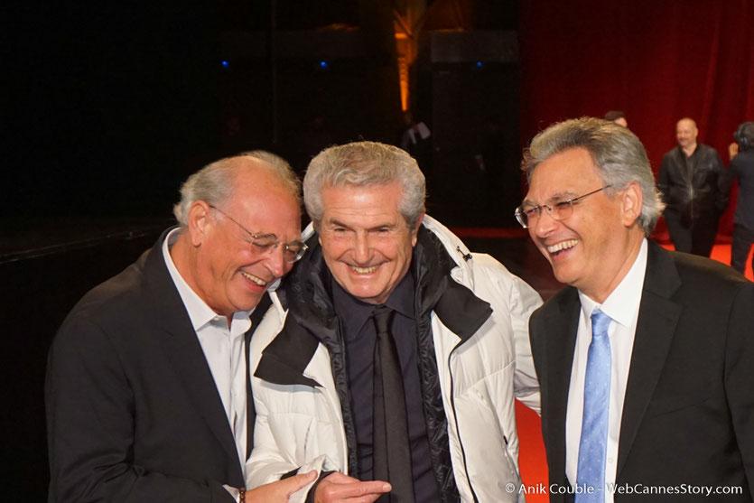 Claude Lelouch, en compagnie de Samuel Hadida - Cérémonie d'ouverture - Festival Lumière 2016 - Lyon - Photo © Anik Couble