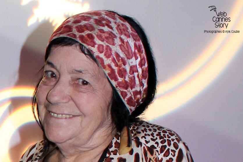 Pascaline Benito, la célèbre femme panthère- Festival de Cannes 2011 - Photo © Anik Couble