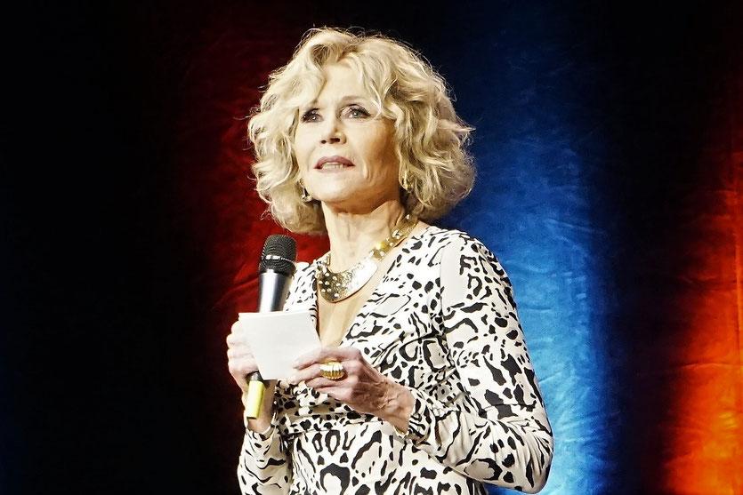 Jane Fonda - Prix  Lumière 2018 - Lyon - Photo © Anik Couble