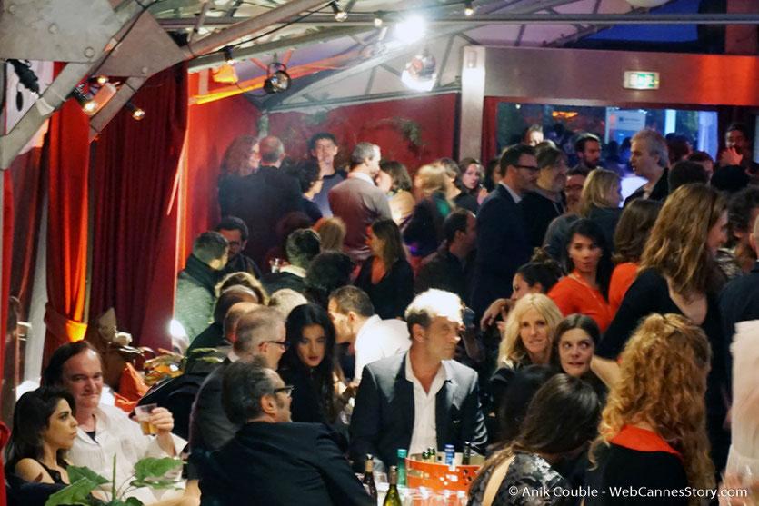 Les invités  du Festival à La Plateforme, dont Quentin Tarantino, Vincent Lindon,  Sandrine Kiberlain et Chiara Mastroïanni - Festival Lumière 2016 - Lyon - Photo © Anik Couble