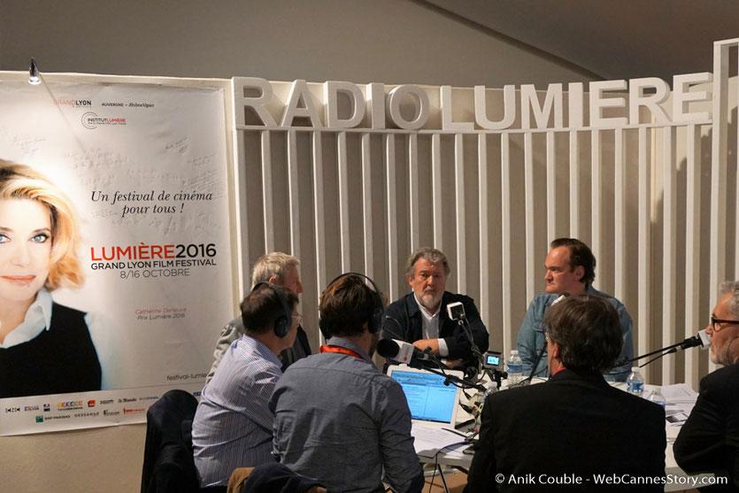 Le village du Festival qui accueille Radio Lumière - Festival Lumière 2016 - Lyon - Photo © Anik Couble