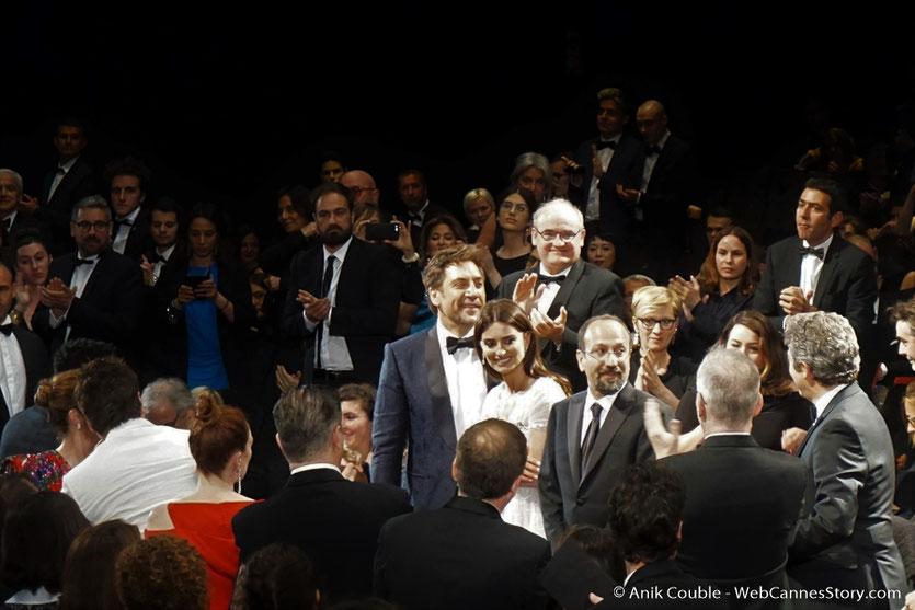 L'équipe du film, Todos lo saben (Everybody Knows), de  Asghar Farhadi, avec Penélope Cruz et Javier Bardem,.présenté en ouverture du Festival de Cannes 2018 - Photo © Anik Couble